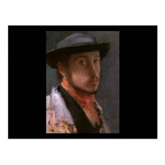 Edgar Degas Self Portrait Postcards