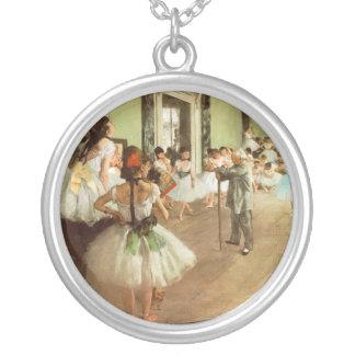 Edgar Degas Silver Plated Necklace