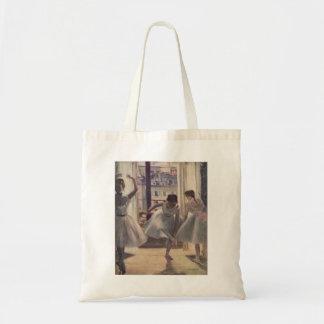 Edgar Degas - sitio 1873 de tres bailarines en la  Bolsas