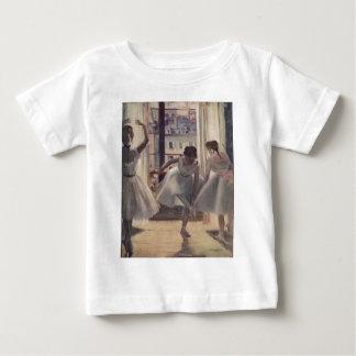 Edgar Degas - sitio 1873 de tres bailarines en la Polera