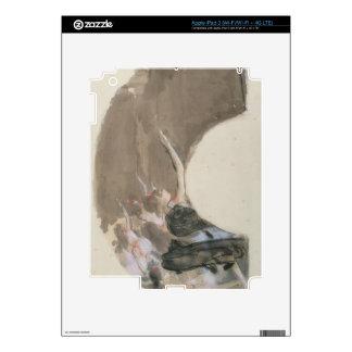 Edgar Degas | Sketch for a fan, c.1879 Skins For iPad 3