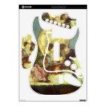 Edgar Degas - Skull Rock Band Guitar Skin