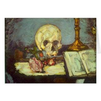 Edgar Degas - Skull Stationery Note Card
