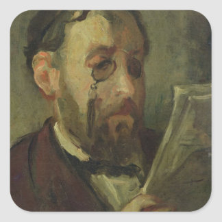 Edgar Degas Square Sticker