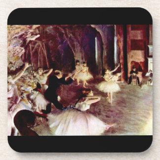 Edgar Degas - Stage trial Drink Coasters