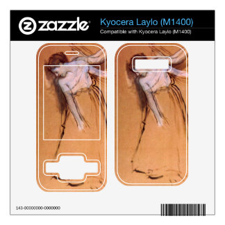 Edgar Degas - Standing with arms stretched bent to Decals For Kyocera Laylo