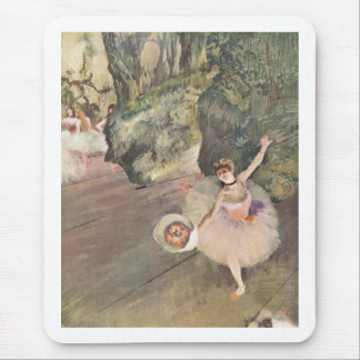 Edgar Degas Star of Ballet w/ Flowers 1878 pastel Mouse Pad