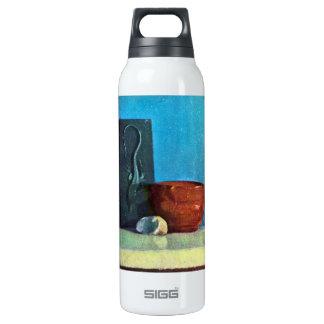 Edgar Degas - Still Life with lizard Insulated Water Bottle