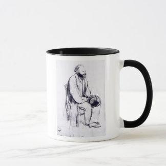 Edgar Degas | Study for a portrait of Manet Mug