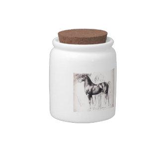 Edgar Degas: Study for Semiramis Building Babylon Candy Jars
