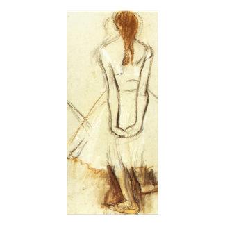 Edgar Degas: Study for the Little Dancer Rack Card Design