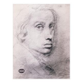 Edgar Degas: Study for the Self Portrait Post Cards