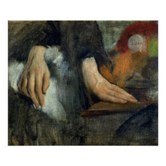 Edgar Degas   Study of Hands, 1859-60 Poster