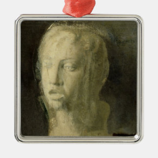 Edgar Degas | Study of the Head of a Young Singer Metal Ornament