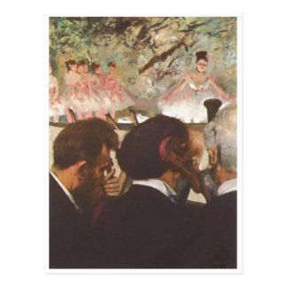 Edgar Degas - The Ballet 1872 Dancers oil canvas Post Cards