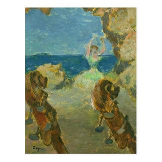 Edgar Degas   The Ballet Dancer, 1891 Postcard