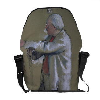 Edgar Degas | The Ballet Master, 1875 (pastel) Courier Bag