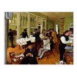 Edgar Degas - The cotton exchange Postcard