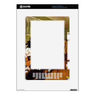 Edgar Degas - The cotton exchange Decal For Kindle