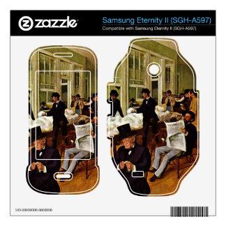 Edgar Degas - The cotton exchange Samsung Eternity II Skin
