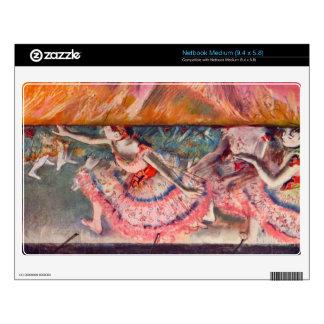 Edgar Degas - The curtain falls Skins For Netbooks