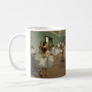 Edgar Degas-The dance class 1874 Coffee Mug