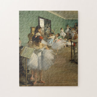 Edgar Degas-The dance class 1874 Jigsaw Puzzle