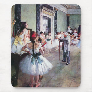 Edgar Degas - The dance class Mouse Pad