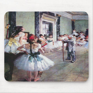 Edgar Degas - The dance class Mouse Pads