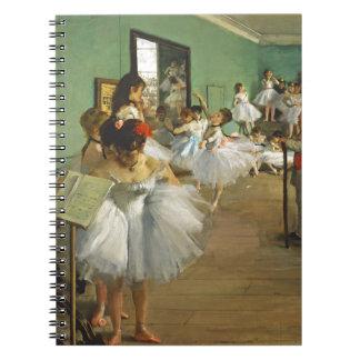 Edgar Degas The Dance Class Notebook