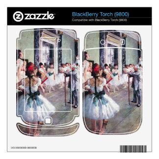 Edgar Degas - The dance class BlackBerry Torch Decals