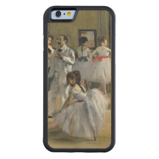 Edgar Degas | The Dance Foyer at the Opera Carved® Maple iPhone 6 Bumper Case