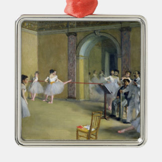 Edgar Degas | The Dance Foyer Metal Ornament