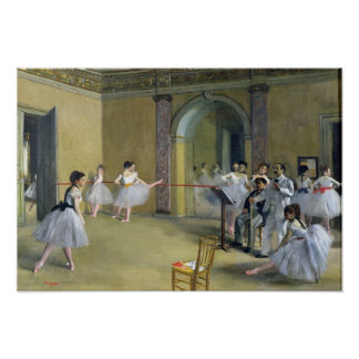 Edgar Degas | The Dance Foyer Poster