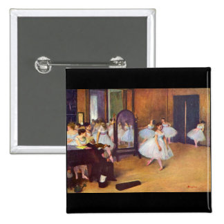 Edgar Degas - The dance hall Pin