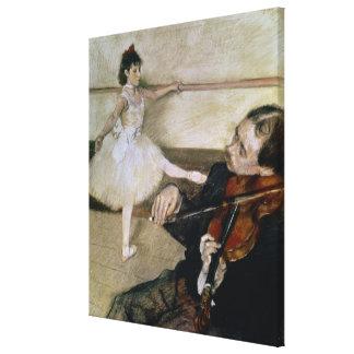 Edgar Degas | The Dance Lesson, c.1879 Canvas Print