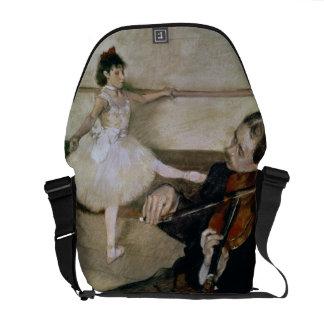 Edgar Degas | The Dance Lesson, c.1879 Messenger Bag