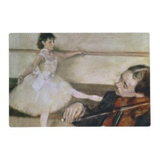 Edgar Degas | The Dance Lesson, c.1879 Placemat