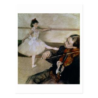 Edgar Degas   The Dance Lesson, c.1879 Postcard
