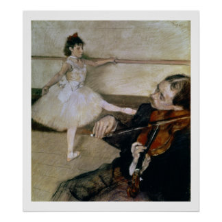 Edgar Degas | The Dance Lesson, c.1879 Poster
