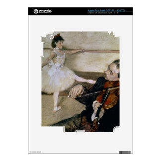 Edgar Degas   The Dance Lesson, c.1879 Skin For iPad 3