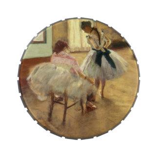 Edgar Degas The Dance Lesson Candy Tin