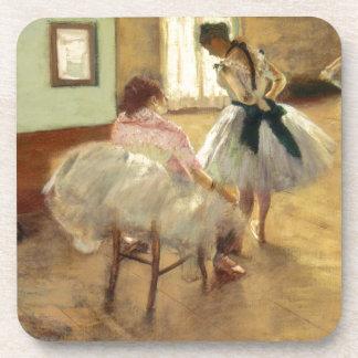 Edgar Degas The Dance Lesson Coasters