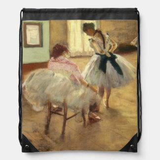 Edgar Degas The Dance Lesson Drawstring Backpack