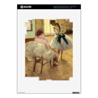 Edgar Degas The Dance Lesson iPad 3 Skin