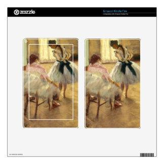 Edgar Degas The Dance Lesson Kindle Fire Skins
