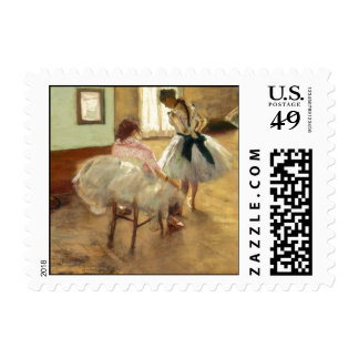 Edgar Degas The Dance Lesson Postage Stamps