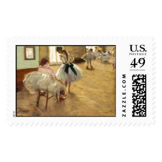 Edgar Degas The Dance Lesson Stamp