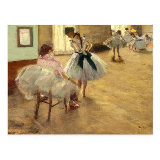 Edgar Degas The Dance Lesson Postcard