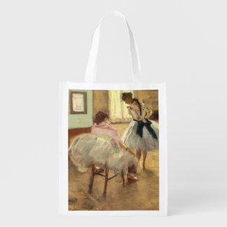 Edgar Degas The Dance Lesson Reusable Grocery Bag